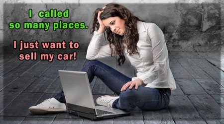 cash for cars - car buyers - sell car online